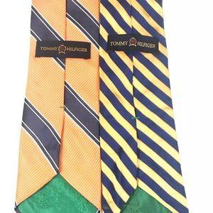 (2) Tommy Hilfiger Ties Men's Necktie
